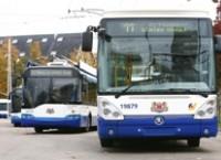 Общий пробег общественного транспорта в марте – 3,7 млн. км