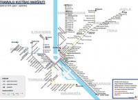 """""""Rīgas satiksmes"""" mājas lapas apmeklētāji izmanto maršrutu shēmas"""