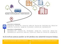 Infografika: Autobusa maršruts Nr. 60 Ķengarags-Ziepniekkalns