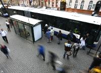 В связи с укладкой верхнего слоя асфальта на бульваре Калпака – изменения на некоторых маршрутах общественного транспорта