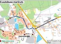 29. maijā būs izmaiņas 10. maršruta autobusa kustībā
