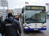 Augustā veiktas 23 463 sabiedriskā transporta pārbaudes