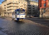 """No 16.jūnija 5.maršruta tramvaji kursēs pa pamatmaršrutu """"Iļģuciems - Mīlgrāvis"""""""