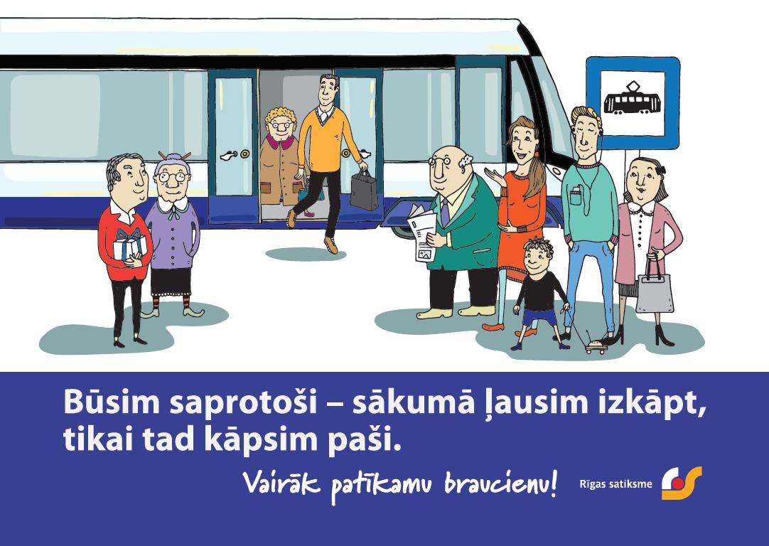 Rīgas satiksme invites passengers to be understanding of ...