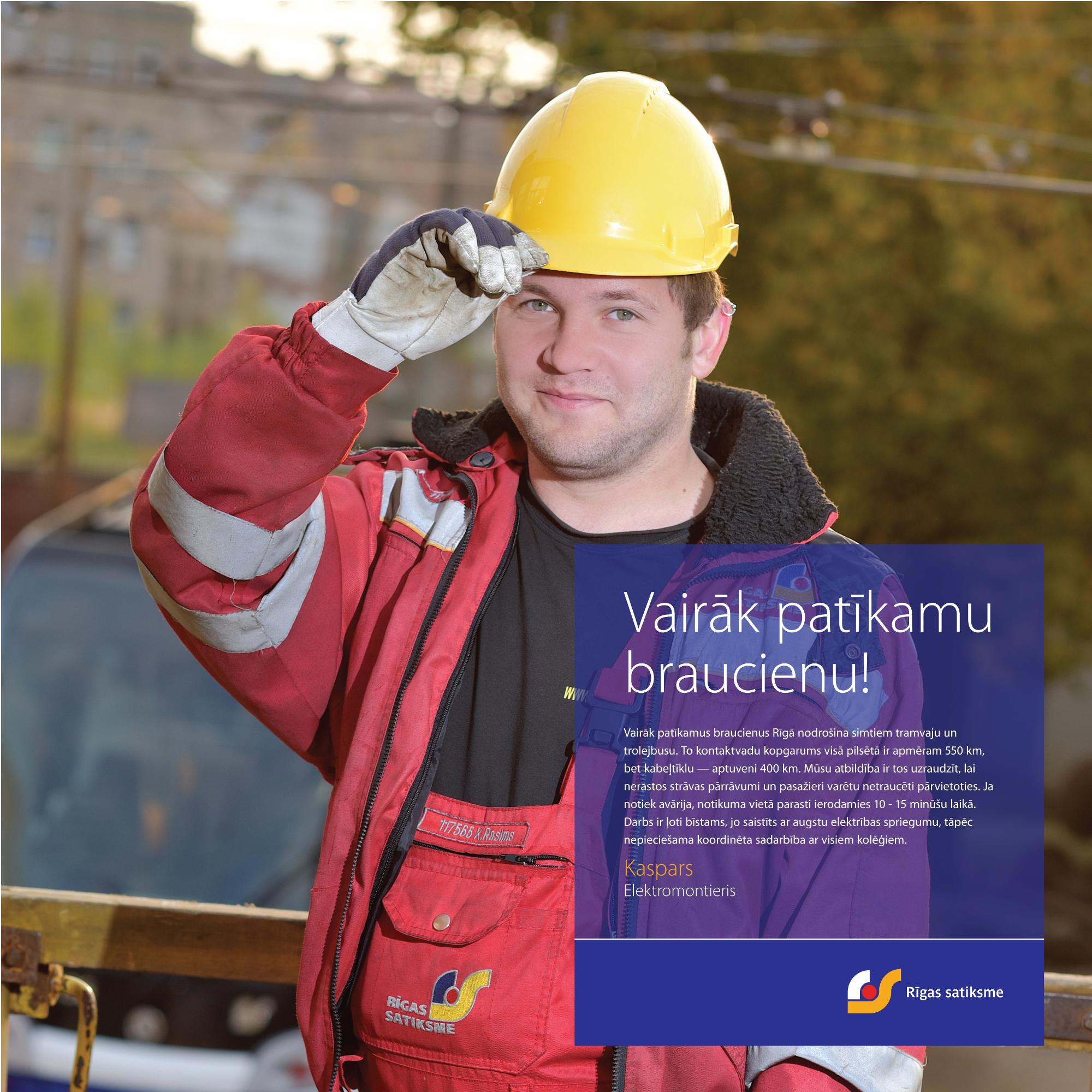 """""""Rīgas satiksme"""" launches campaign """"Have more nice trips ..."""