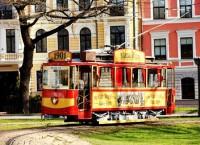 Infografika: Retro tramvajs