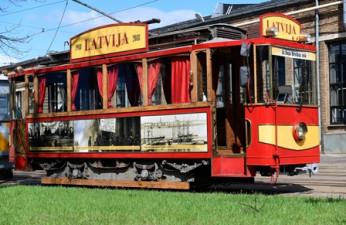 Retro tramvajs