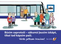 """""""Rīgas satiksme"""" aicina pasažierus būt savstarpēji saprotošiem"""