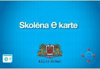Rīgas Skolēna e kartei varēs pieteikties elektroniski