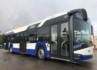 """Rīgas satiksmei"" piegādāti jauni ""Solaris Urbino"" autobusi"