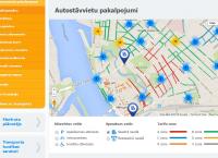 Rīgas satiksme atgādina: mājas lapā pieejama interaktīva stāvvietu karte