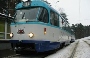 Tram (2 tramcars) Tatra T3A; Tatra T3M