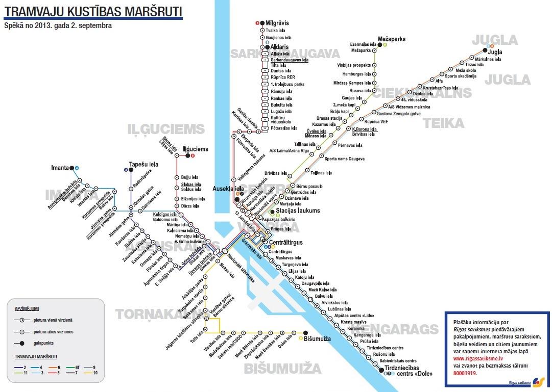 Riga Subway Map.News Rigas Satiksme